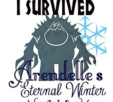 I Survived Arendelle's Eternal Winter by hboyce12