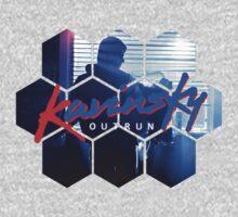 Kavinsky OUTRUN - Album Art by Circusbrendan
