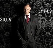 Go Study—Mycroft Holmes by kinderberry