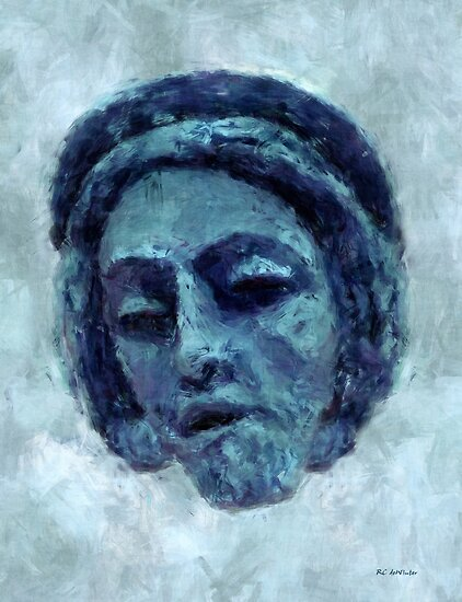 The Face of Blue by RC deWinter