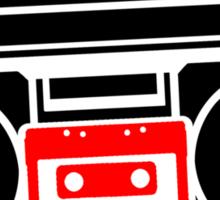 Just a Boombox! Sticker