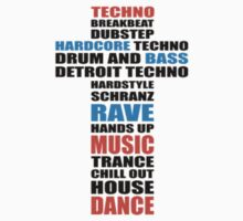 Trance Techno Dubstep Rave Cross by clubbers06