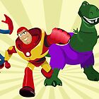 Toy Story Heroes by lissyleem