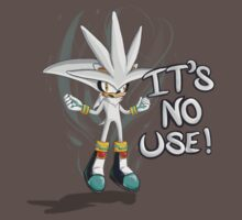 "Silver The Hedgehog ""It's no use!"" by Raiyar"