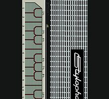Stylophone phone cover (only) by erndub