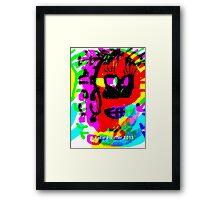 Fear Monster Framed Print