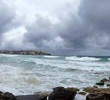Panoramic - Sydney Beach  by James Toh