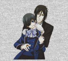 Ciel and Bassy  by crazyfangirl97