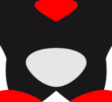 Security Muscle Penguin Sticker