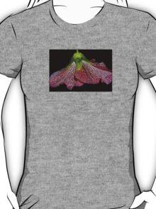 pink hollyhock skirt T-Shirt