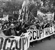 Occupy Wall Street, May Day 2012 by Adrian Resa  Jones