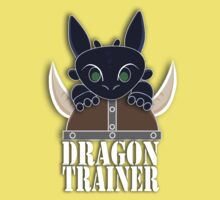 Dragon Trainer Tee (With Text) Kids Clothes
