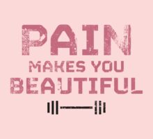Pain Makes You Beautiful by MikeZuniga