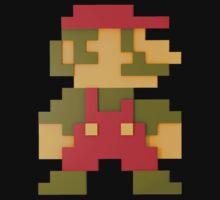 Mario 8-Bit 3D by Jack-O-Lantern