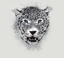 White Tiger - Paint Splatters Dubs T-Shirt Stickers Art Prints by Denis Marsili
