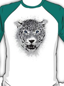 White Tiger - Paint Splatters Dubs T-Shirt Stickers Art Prints T-Shirt
