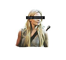 Emma Swan, the Savior. Photographic Print