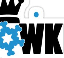 Snowking Sticker