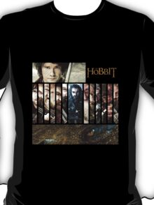 The Hobbit - Bilbo, Thorin, the Dwarves and Smaug T-Shirt