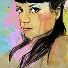 Lily Allen by Mark Dickson