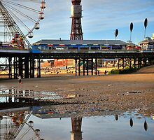 Blackpool Reflections by FyldePhotos