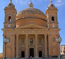Parish Church (Egg Church), Mġarr, Malta by Kajia
