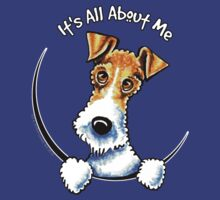 Wire Fox Terrier : Its All About Me by offleashart
