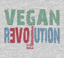 VEGAN REVOLUTION - vegan, vegetarian, animal rights, cruelty to animals Kids Clothes