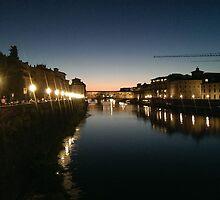 Pontevecchio at dusk by M0les2013