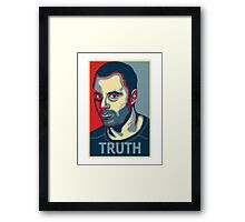 Truth ~ Joe Rogan Framed Print