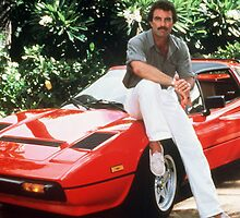 TOM SELLECK by Maximel97