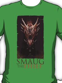 Smaug And The Thief T-Shirt