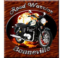Triumph Bonneville Road Warrior Photographic Print