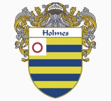 Holmes Coat of Arms/Family Crest by William Martin
