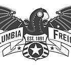 Bioshock Infinite - Columbia Freight (Dark Gray) by PixelStampede