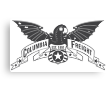 Bioshock Infinite - Columbia Freight (Dark Gray) Canvas Print