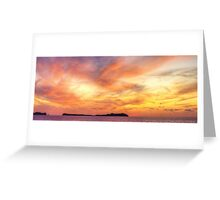Ibiza Sunset Greeting Card