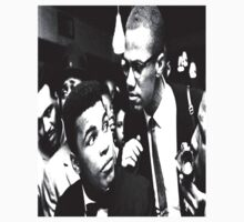 Malcom X and Muhammad Ali by Prince Griffin