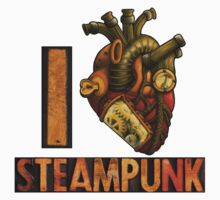 I Heart Steampunk Kids Clothes