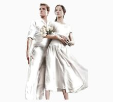 The Hunger Games: Katniss & Peeta by tydalwave