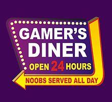 Gamers Diner by RoamingGeek