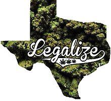 Texas Legalize Marijuana by turfinterbie