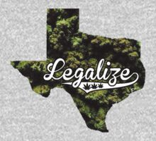 Texas Legalize Marijuana T-Shirt