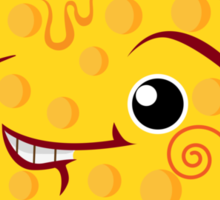 Cheesy Sticker