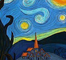 My own starry night by Núria Talavera
