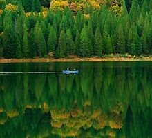 Peaceful canoe ride photo by creativedesignz