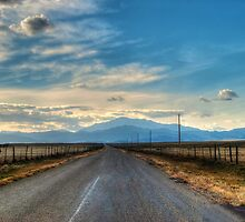 Road to Laramie Peak by Mark Baker