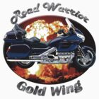 Honda Gold Wing Road Warrior by hotcarshirts