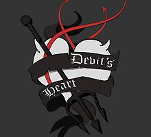 Devil's Heart Dark Style Case by jonaqs