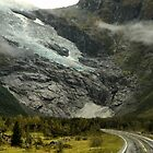 Low Cloud on the Glacier by Larry Lingard/Davis